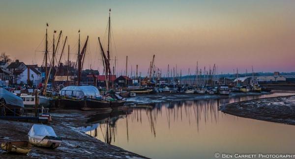 Maldon Quayside at Dusk by bencarrett