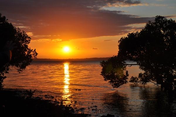 australia sunset by mrtower
