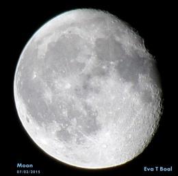 Moon 7th February 2015