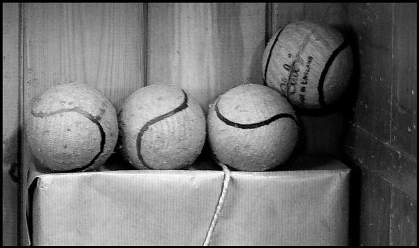Tennis Balls by JawDborn