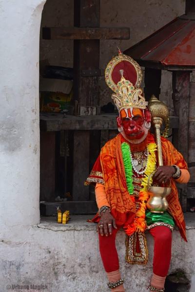 Hanuman. by UrbaneMagick