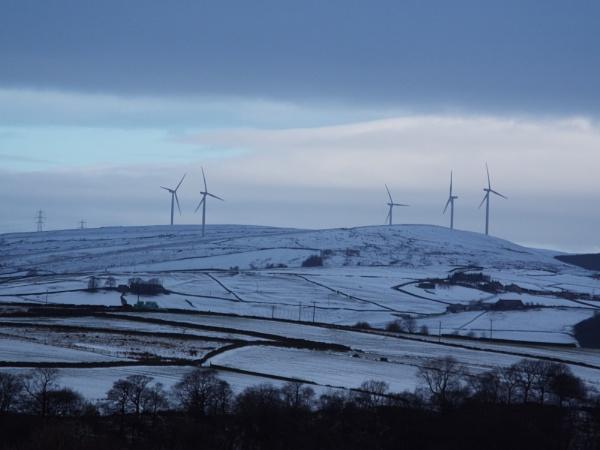 Winter Windfarm