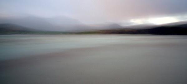 Cold sandy beach by ladigit