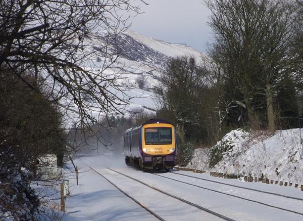 snow train by mrtower