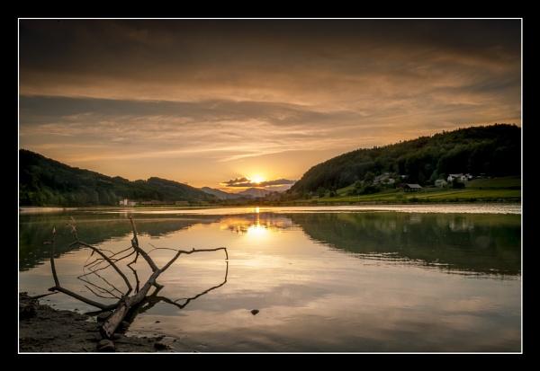 Sevnica Sunset by ALLYDC1979