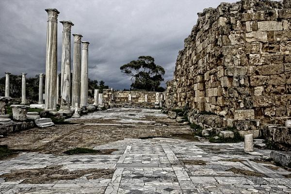 Salamis Ruins by johnlwadd
