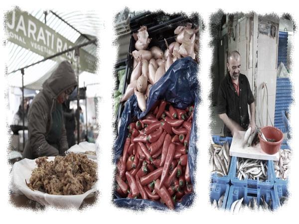 Edible Urban Triptych by davetac