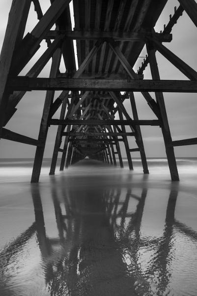 Steetly Pier by Kim Walton