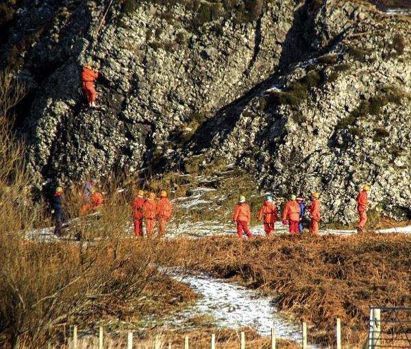The Climbing Class by Irishkate