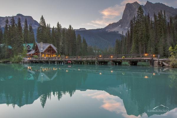 Emerald Lake Lodge, Yoho National Park, BC, Canada by RamblerPhotography