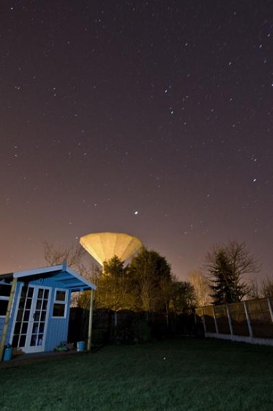 Night sky by Flymoman
