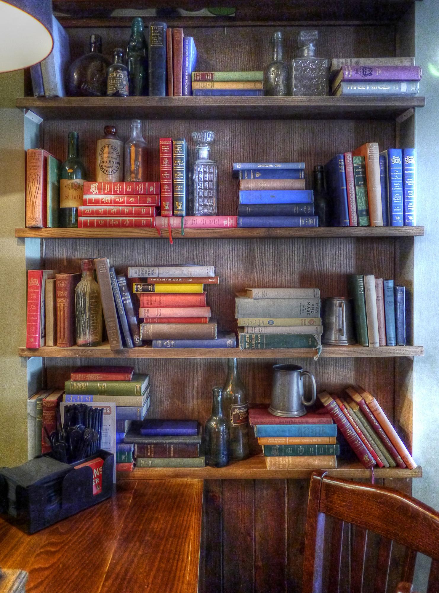 Pub Bookcase