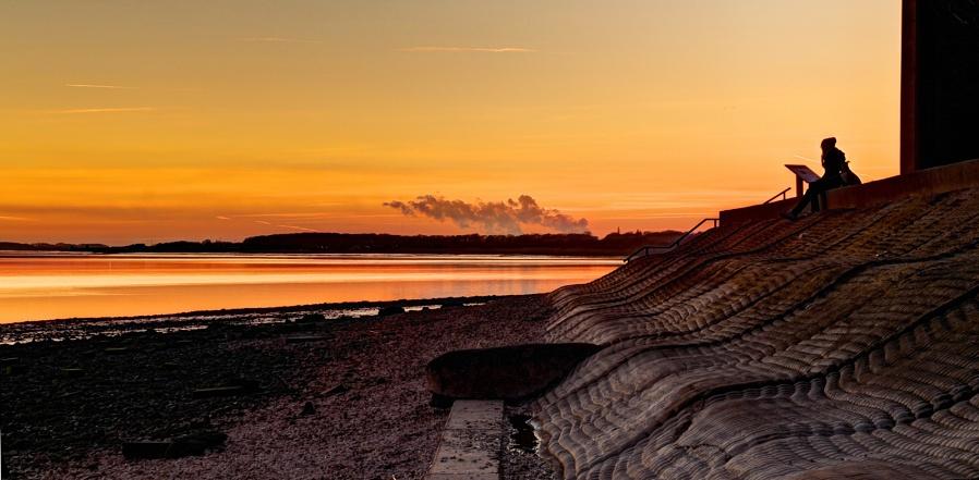 Humber sunset