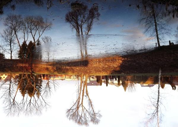 Winter in water by kazeva