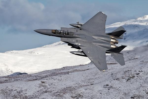 McDonnell Douglas F-15 Eagle by John_Wannop