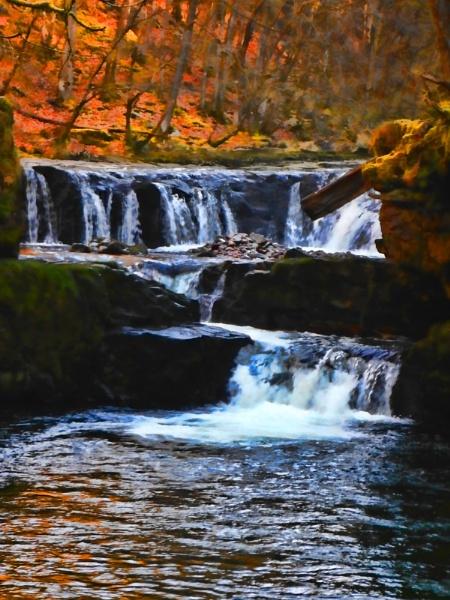 Waterfalls by Fish59