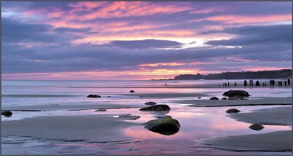 Sunrise at Sandsend by YorkshireSam