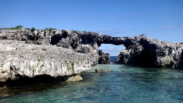 DevilÂ's Bridge.  Antigua. Fuji XP200. DSCF0011. by rpba18205