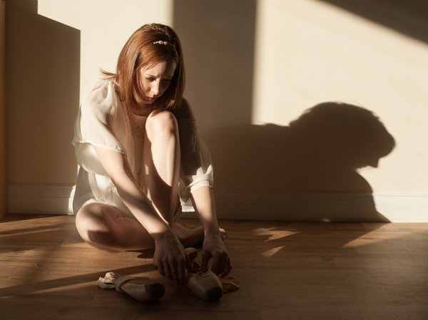 Afternoon ballet shoes by dudler