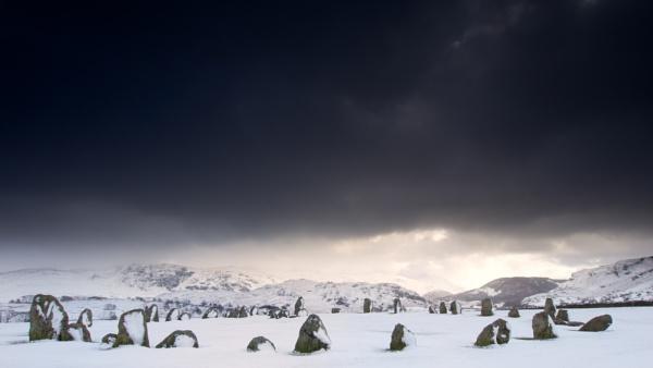 Castlerigg Snowstorm by robs