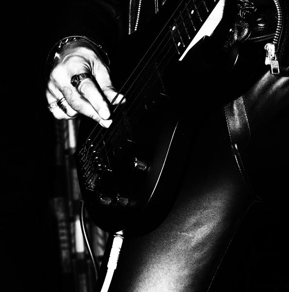 The bass guitarist by saltireblue