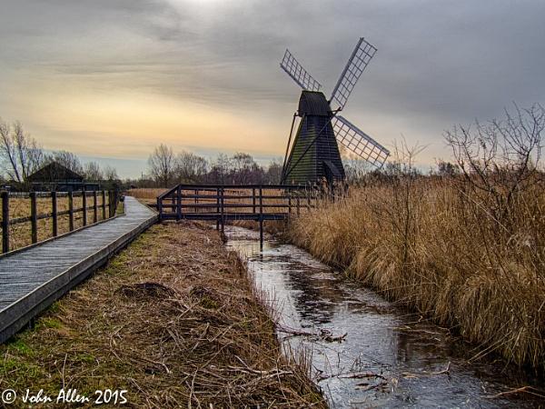Wicken Fen Windmill by jumbozine