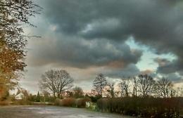 Cloudy Sunset, Foal Hurst Wood, Paddock Wood, Kent
