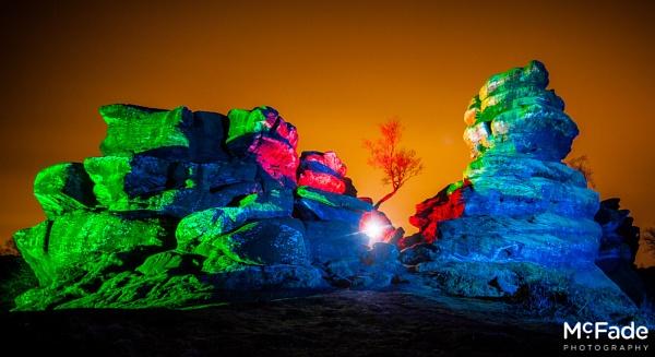 Technicolor Boulders by ade_mcfade