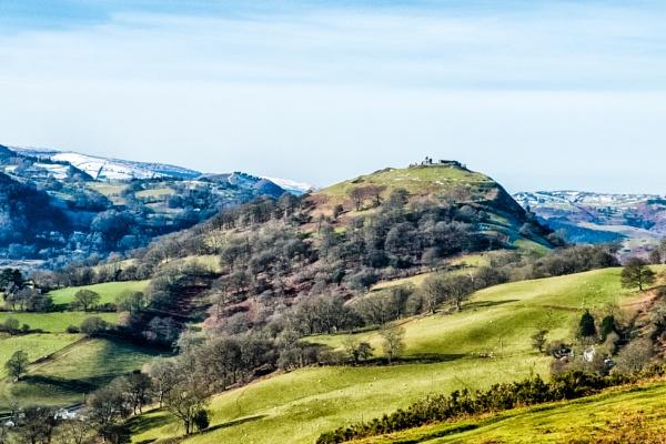 Castell Dinas Brân by stevew10000