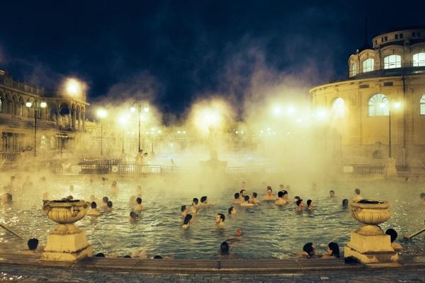 Széchenyi Baths by JaHa