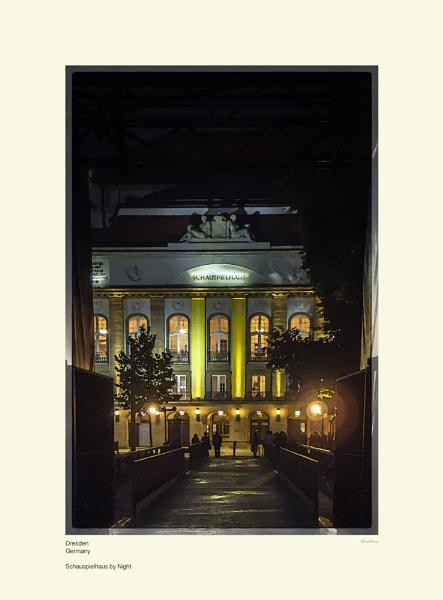 Schauspielhaus By Night by Pentaphobian