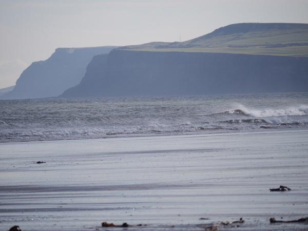 Three headlands from Redcar beach by cbegg