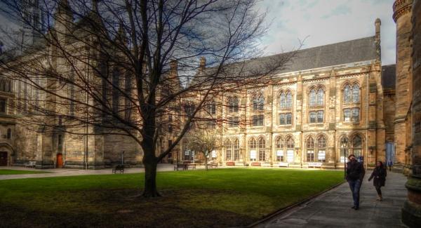 Glasgow University West Quadrangle by digital_boi