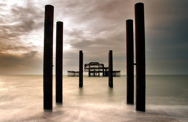 West Pier Brighton by Chrism8
