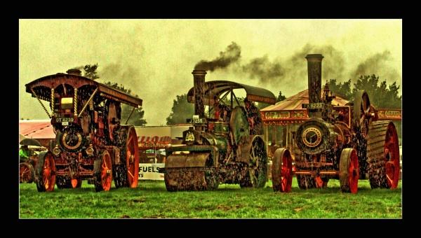 Steam Engines by helenlinda