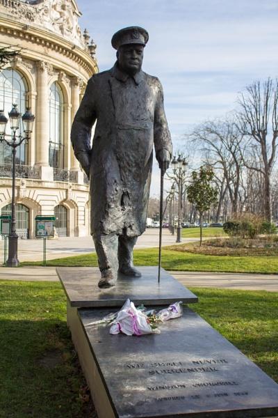Winston in Paris by WorldInFocus