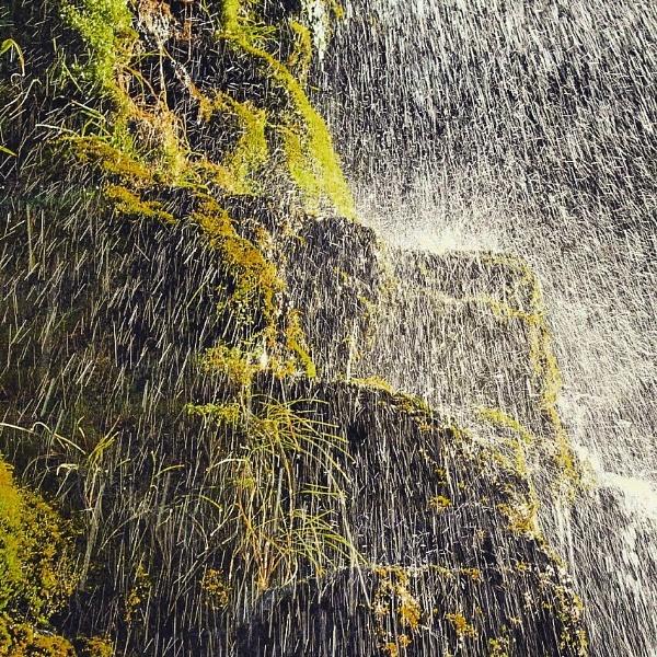 waterfall pic tongariro crossing NZ by nicbone