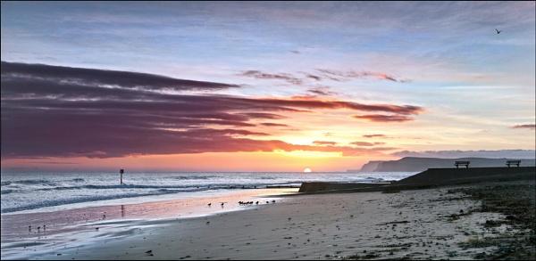 Sunrise at Redcar by YorkshireSam