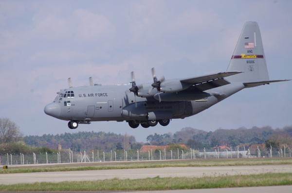 C-130 Hercules by TheAviator