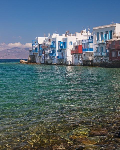 Little Venice, Mykonos by iancrowson