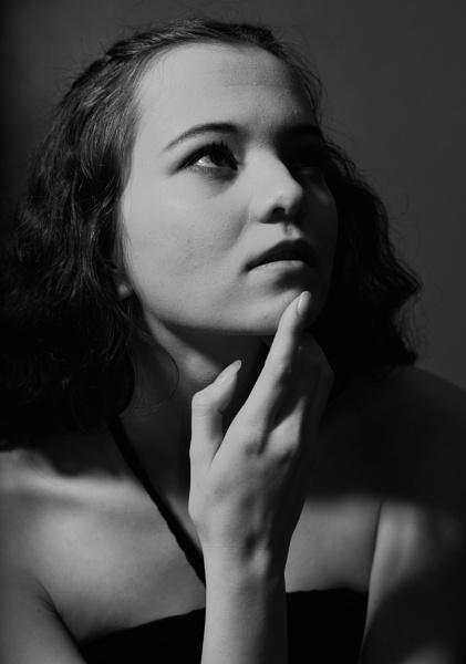 Kirsten in mono by DouglasMorley