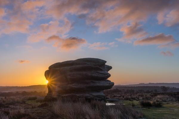 The Eagle Stone at Sunrise