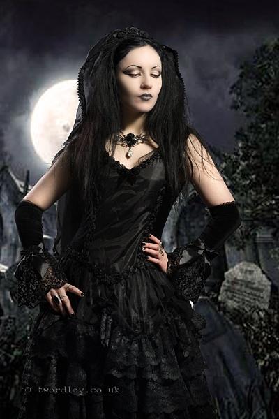 Ella & The Gothic Shop Clothing by Jack_Schitt