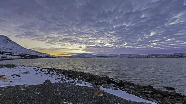 Sunrise over Kollafjörður, West Iceland. by pdunstan_Greymoon
