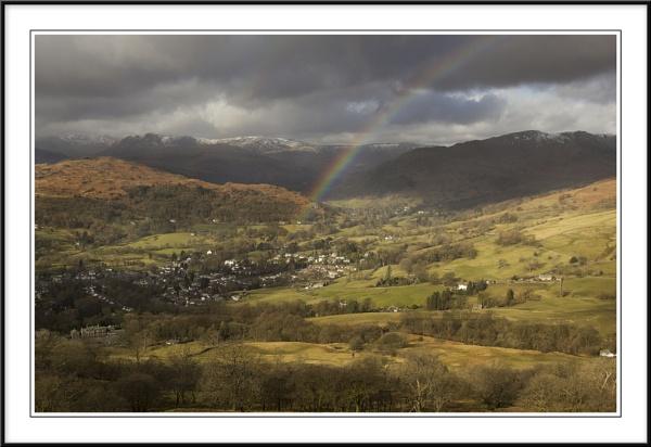 Rainbow over Amleside by Charlie59