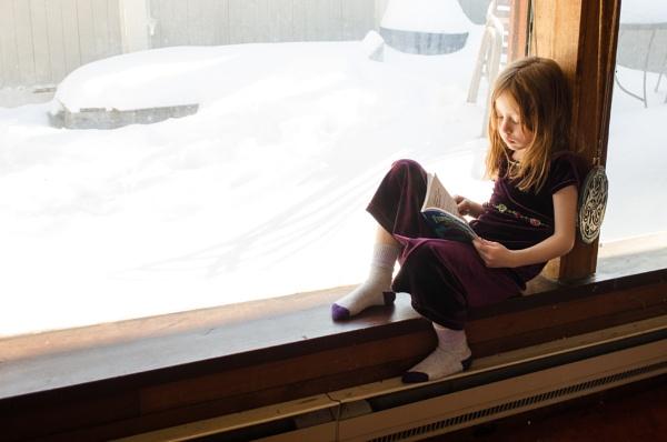 Danika Windown Reading by Marty_Woodcock