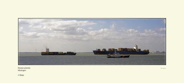 3 Ships by Pentaphobian