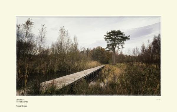 Wooden Bridge by Pentaphobian
