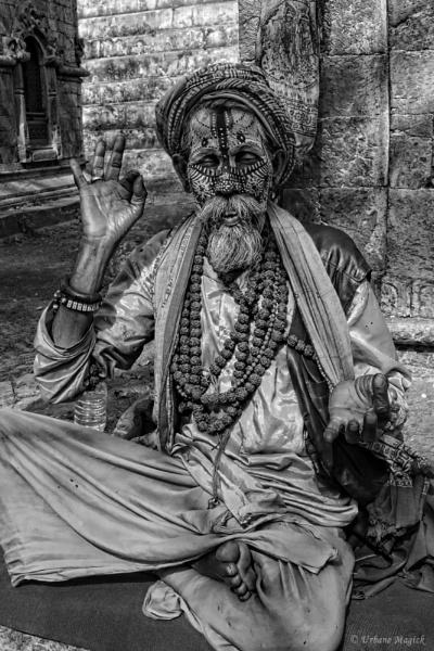 Meditation of Shiva. by UrbaneMagick
