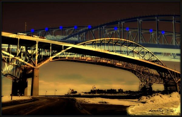 Bridge Lights by doerthe